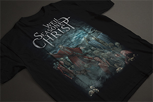 T-Shirt Heretic Blasphemy Artwork